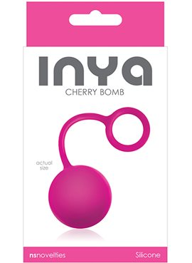 Вагинальный шарик INYA CHERRY BOMB, PINK T280136 NS Novelties