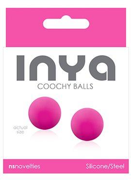 Вагинальные шарики INYA COOCHY BALLS, PINK T280138 NS Novelties