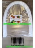 Парник Урожай Подснежник 4м плотность 42г/м2