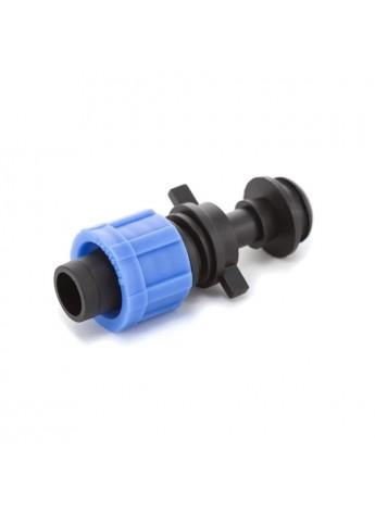 Стартер с резинкой Presto №PO-0117 (Престо) для капельной ленты Drip Tape