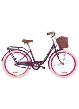 Велосипед Dorozhnik LUX OPS-D-26-060 Сливовый 2019