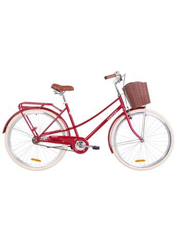 Велосипед Dorozhnik COMFORT FEMALE OPS-D-28-123 Рубиновый 2019