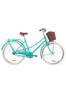 Велосипед Dorozhnik COMFORT FEMALE OPS-D-28-125 Бирюзовый 2019