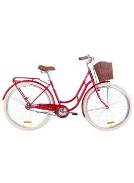 Велосипед Dorozhnik RETRO OPS-D-28-143 Рубиновый 2019