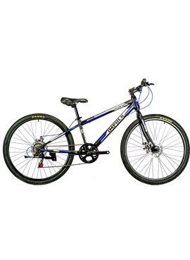 "Велосипед Impuls Bike COLORADO 26"" NEW рама 13 Черно-синий 2019"