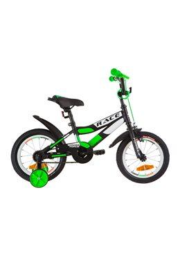 Велосипед детский Formula Kids 14 RACE OPS-FRK-14-003 Черно-Салатный 2019