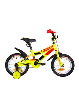 Велосипед детский Formula Kids 14 RACE OPS-FRK-14-005 Желто-Оранжевый 2019