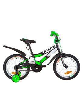 Велосипед детский Formula Kids 16 RACE OPS-FRK-16-071 Черно-Салатный 2019