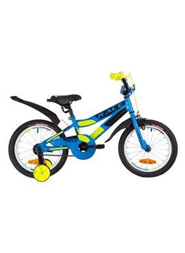 Велосипед детский Formula Kids 16 RACE OPS-FRK-16-076 Голубой С Зеленым 2019