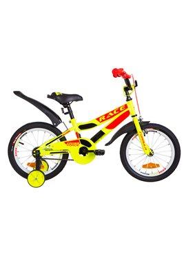 Велосипед детский Formula Kids 16 RACE OPS-FRK-16-073 Желто-Оранжевый 2019