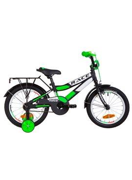 Велосипед детский Formula Kids 16 RACECR OPS-FRK-16-078 Черно-Салатный 2019