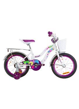 Велосипед детский Formula Kids 16 FLOWER OPS-FRK-16-060 Бело-Фиолетовый 2019