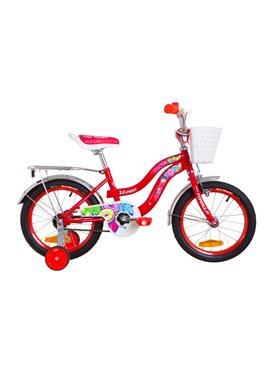 Велосипед детский Formula Kids 16 FLOWER OPS-FRK-16-063 Красный 2019