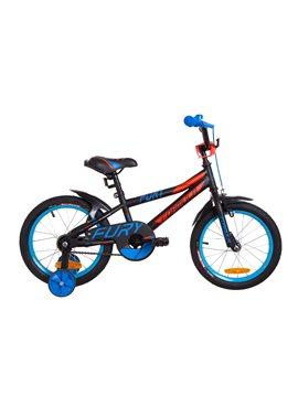Велосипед детский Formula Kids 16 FURY OPS-FRK-16-065 Черно-Красный С Синим 2019