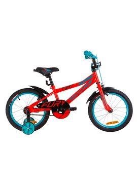 Велосипед детский Formula Kids 16 FURY OPS-FRK-16-067 Красно-Бирюзовый 2019