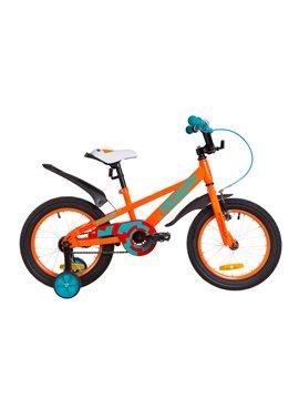 Велосипед детский Formula Kids 16 JEEP OPS-FRK-16-068 Оранжево-Бирюзовый 2019