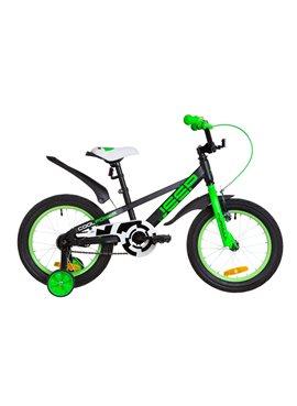 Велосипед детский Formula Kids 16 JEEP OPS-FRK-16-069 Черно-Салатный 2019