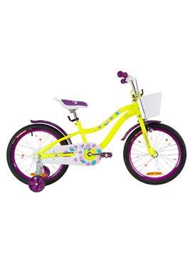 Велосипед детский Formula Kids 18 ALICIA OPS-FRK-18-036 Желто-Фиолетовый 2019