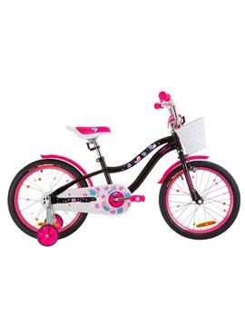 Велосипед детский Formula Kids 18 ALICIA OPS-FRK-18-037 Черный С Розовым 2019