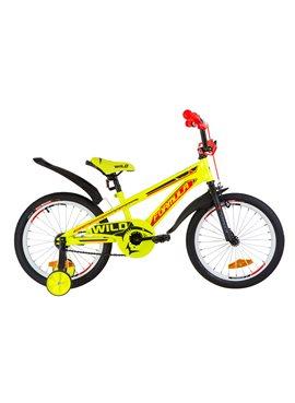 Велосипед детский Formula Kids 18 WILD OPS-FRK-18-030 Желто-Оранжевый 2019