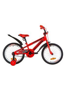 Велосипед детский Formula Kids 18 WILD OPS-FRK-18-031 Красно-Бирюзовый 2019