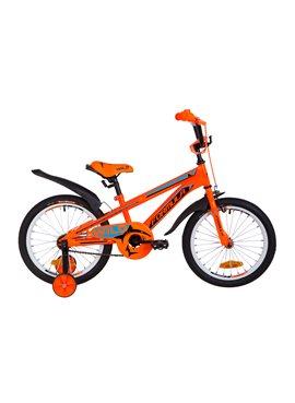 Велосипед детский Formula Kids 18 WILD OPS-FRK-18-032 Оранжево-Синий 2019