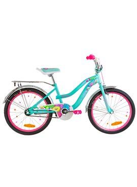 Велосипед детский Formula Kids 20 FLOWER OPS-FRK-20-065 Бирюзовый 2019