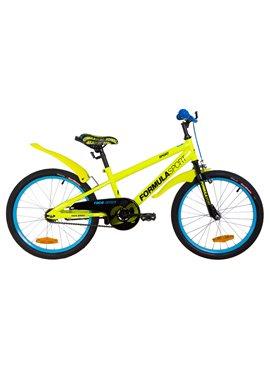 Велосипед детский Formula Kids 20 SPORT OPS-FRK-20-073 Желтый 2019