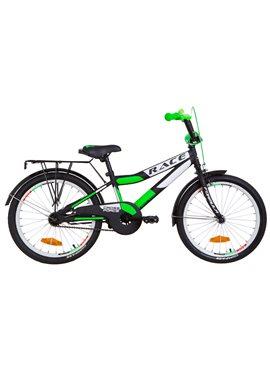 Велосипед детский Formula Kids 20 RACECR OPS-FRK-20-076 Черно-Салатный 2019