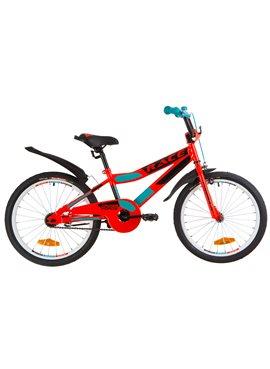Велосипед детский Formula Kids 20 RACE OPS-FRK-20-072 Красно-Бирюзовый 2019