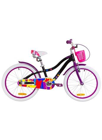 Велосипед детский Formula Kids 20 CREAM OPS-FRK-20-089 Черно-Фиолетовый 2019