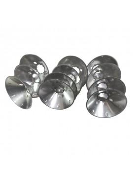 Тарелки металлические барабана сливкоотделителя к сепаратору Мотор Сич 1 комплект (11шт)