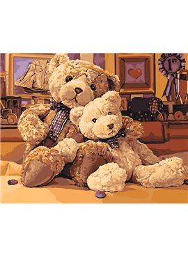 "Картина по номерам. ""Братец-медвежонок"" 40*50см KHO4126"