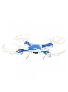 Квадрокоптер CF-888-3(Blue) Синий р/у2,4G,аккум,33см,камера,WiFi,USBзар,зап.лоп,кор,54,5-36,5-9,5см