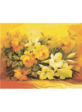 """Картина по номерам. Букеты """"Букет в желтом цвете"""" 40*50см KHO2037"""