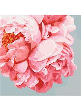 """Картина по номерам. Букеты """"Розовые пионы""""40*40см KHO3035"""