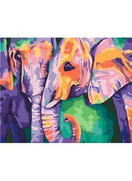 """Картина по номерам. Животные, птицы """"Индийские краски"""" 40х50см KHO2456"""