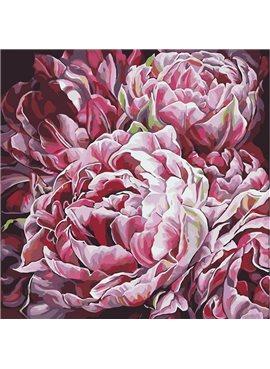 """Картина по номерам. Букет """"Буйство цветов 2"""" 40*40см * KHO3014"""