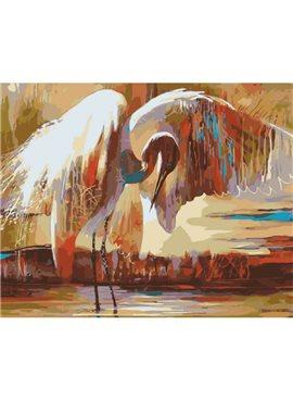 """Картина по номерам. Животные, птицы """"Крылья счастья"""" 40х50см KHO4011"""