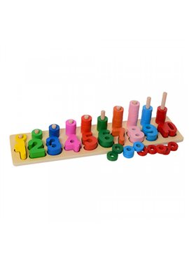 Деревянная игрушка Геометрика MD1268