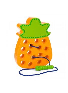 Деревянная игрушка Шнуровка MD 1228