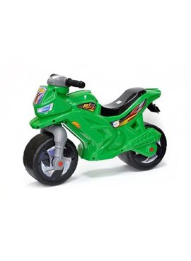 Мотоцикл 2-х колесный 501-1G Зеленый