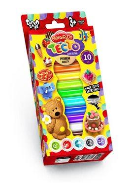 """Комплект креативного творчества 7550DT Тесто для лепки """"Master Do"""" 10 цветов"""