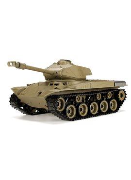 Танк HENG LONG US M41A3 Bulldog р/у аккум 3839-1, 1:16, дым,звук,вращ.башня,пневм.орудие