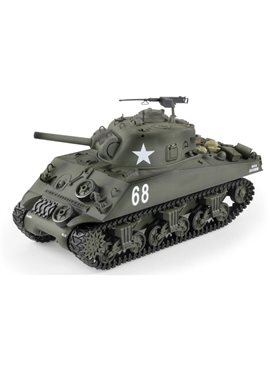 Танк р/у HENG LONG M4A3 Sherman3898-1, 1:16