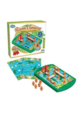 Игра-головоломка Переправа | ThinkFun River Crossing 76349