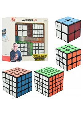 Кубик EQY525 4шт(5,5-5,5см и 6,5-6,5см), в кор-ке, 20-20-8см