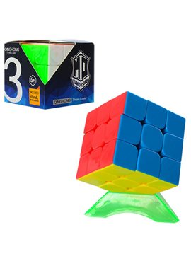Кубик 379001-A на подставке, в кор-ке, 6-6-6см