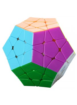 Кубик 0934C-1 QiYi X-Man Megaminx (Plane Stickerless)8см, в кор-ке, 9,5-7,5-13,5см