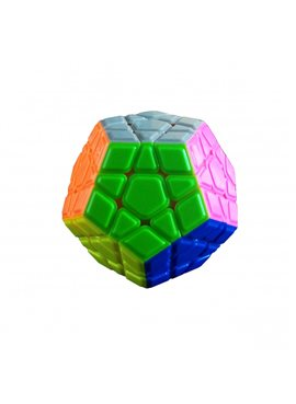 Кубик 0934C-2 QiYi X-Man Megaminx (Convex Stickerless)8см, в кор-ке, 9,5-7,5-13,5см